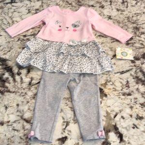 Little Me size 12 month set